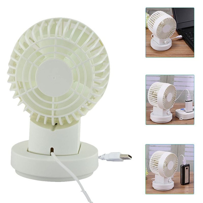 Welltop Ultra Quiet Desktop Fan 2 Speed Portable Silent Mini Fans Double  Side Small Personal USB Fan Office Home Air Cooling In Fans From Consumer  ...