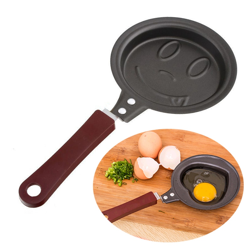 Stainless Steel Omelette Fry Pan Non-stick Cartoon Pot Molds Breakfast Omelette Pan Egg Pancake Frying Pan Kitchen Cookware