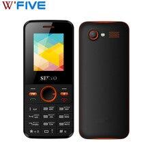 SERVO V8240 1.77 inç cep telefonları çift SIM kart GPRS titreşim dışında FM radyo cep telefonu ile rusça klavye Unlocked telefon