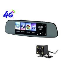 Otstrive 7 дюймов 4 г Android 5,1 gps навигация WiFi Bluetooth телефонный звонок 1 г ram DVR заднего вида двойная камера Даш-камера зеркало gps