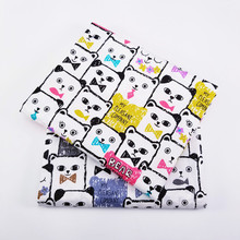 hot deal buy bear animal 100% cotton quilting fabric by half meter  for patchwork quilts cushions patchwork telas sewing tissue diy crafts