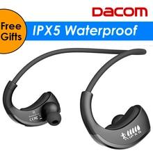 DACOM Armor G06 IPX5 Waterproof Bluetooth Headphones Wireless Earphone Sports Running Headset Ear-hook  with Mic fone de ouvido