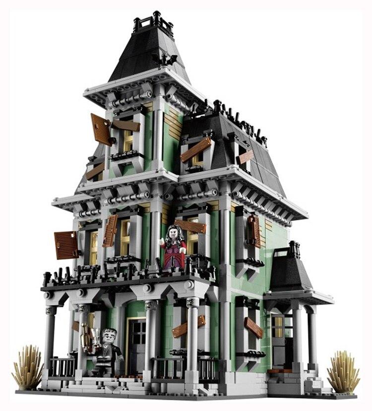 Nouveau LEPIN 16007 2141 pcs Monstre combattant La maison hantée Modèle Kits de Construction Modèle Compatible Avec 10228 legoed - 2