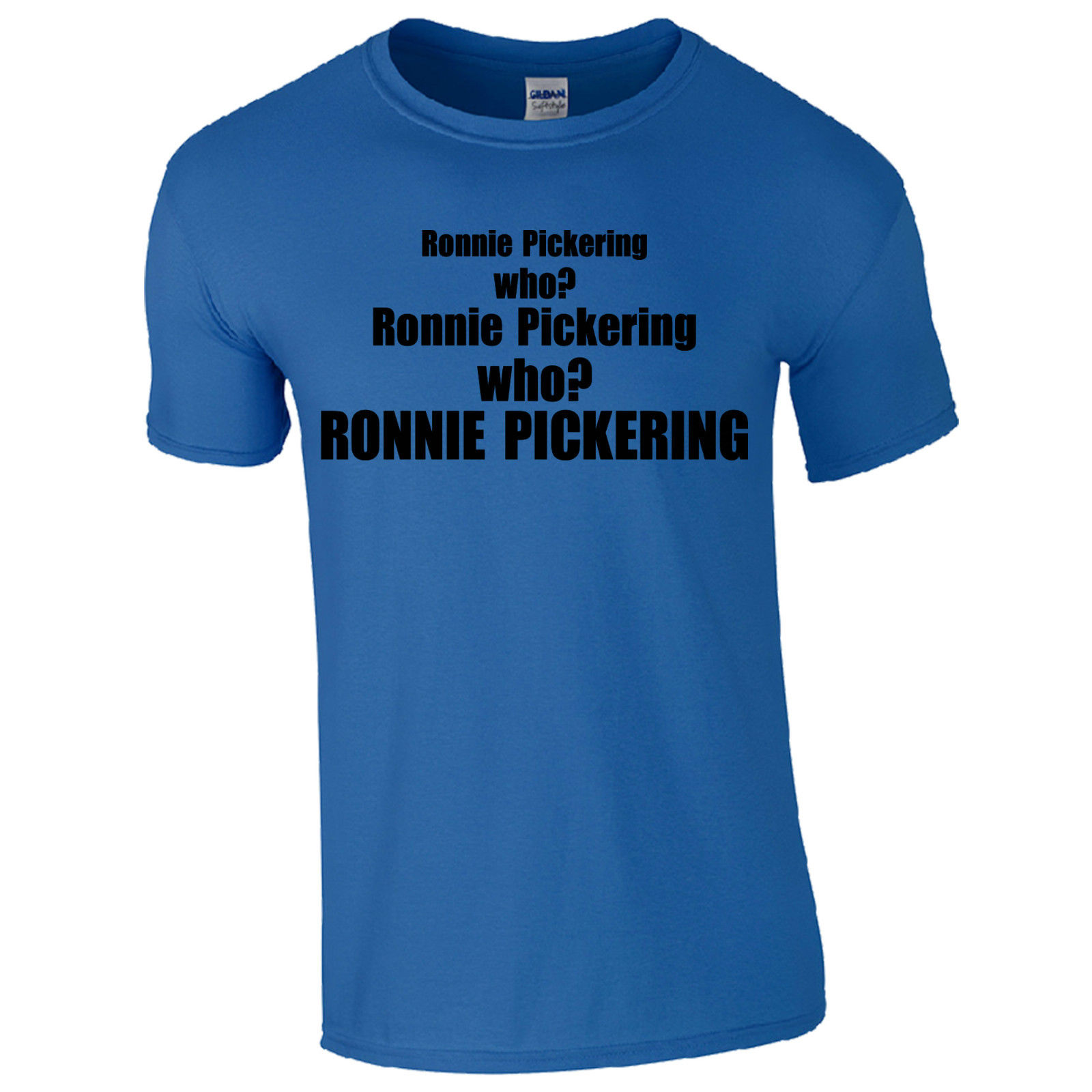Забавная футболка Стиль хлопок Для мужчин с круглым вырезом ronnie Пикеринг кто? Youtube лоза видео Remix топ с коротким рукавом Рубашки для мальчико...