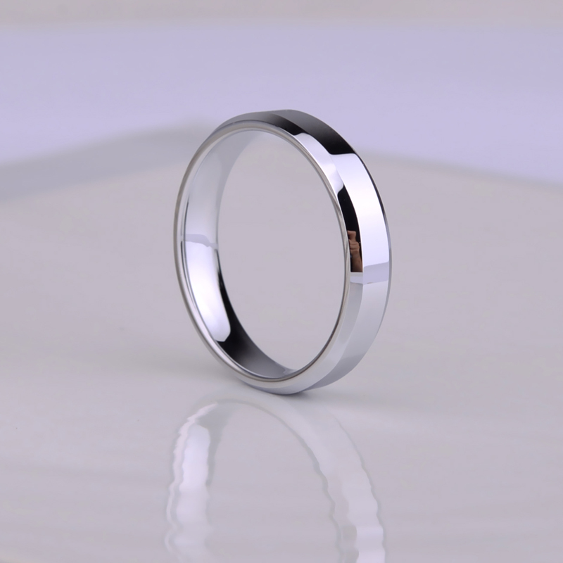 New Ridged Edges Tungsten Rings Carbide Mens Unisex Irregular Edges  Wedding Rings For Men And Women Tungsten Rings
