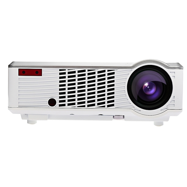 LED - 33 LCD Projector Mini Portable Projector Media Player 2600 Lumens 854 x 540 Pixels for Home Theater Office Education