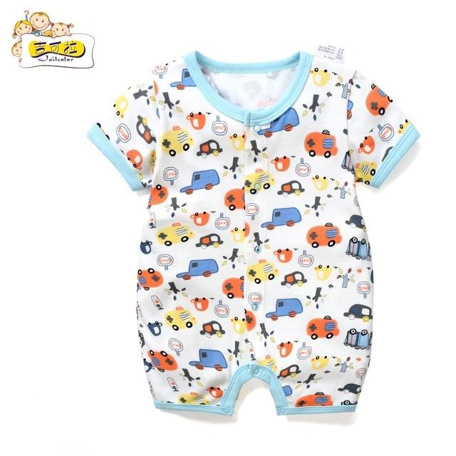 Jeilclor Newborn Baby Boy Car Overalls Summer Jumpsuit 3 6 12 18 23