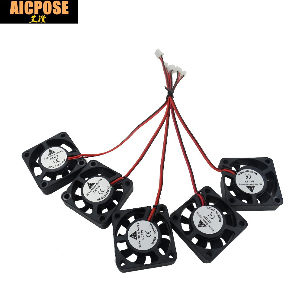 free shipping 5pcs 4x4 Silent fan 12v or 24v and Cable 15cm for 7x12w 18x3w 7x10w <font><b>12x12w</b></font> <font><b>Led</b></font> <font><b>PAR</b></font> Light Repair parts image