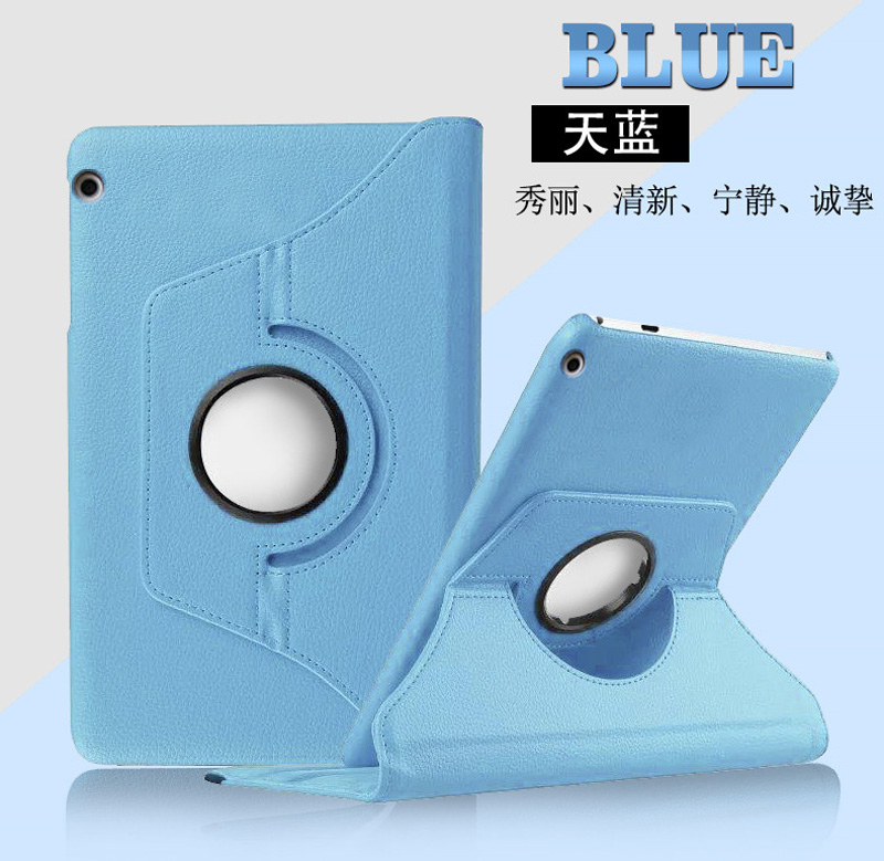 360 Degree Rotating Litchi Flip Stand Leather Magnet Coque Cover Shell Funda Case For Huawei Mediapad T5 10 AGS2-W09/L09/L03/W19