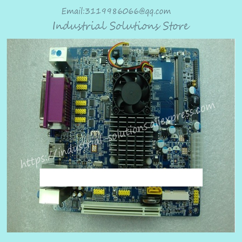 Asl Atom 1.8G 6COM Lvds Mini Industrial Motherboard ITX 100% tested perfect quality m945m2 945gm 479 motherboard 4com serial board cm1 2 g mini itx industrial motherboard 100