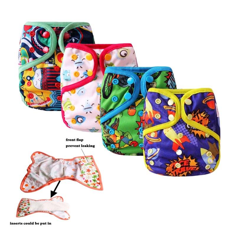 बेबी कपड़ा डायपर कवर लीकप्रूफ पुन: प्रयोज्य डायपर नवजात शिशु कपड़ा डायपर कवर निविड़ अंधकार कपड़े लंगोट पॉकेट डायपर कवर