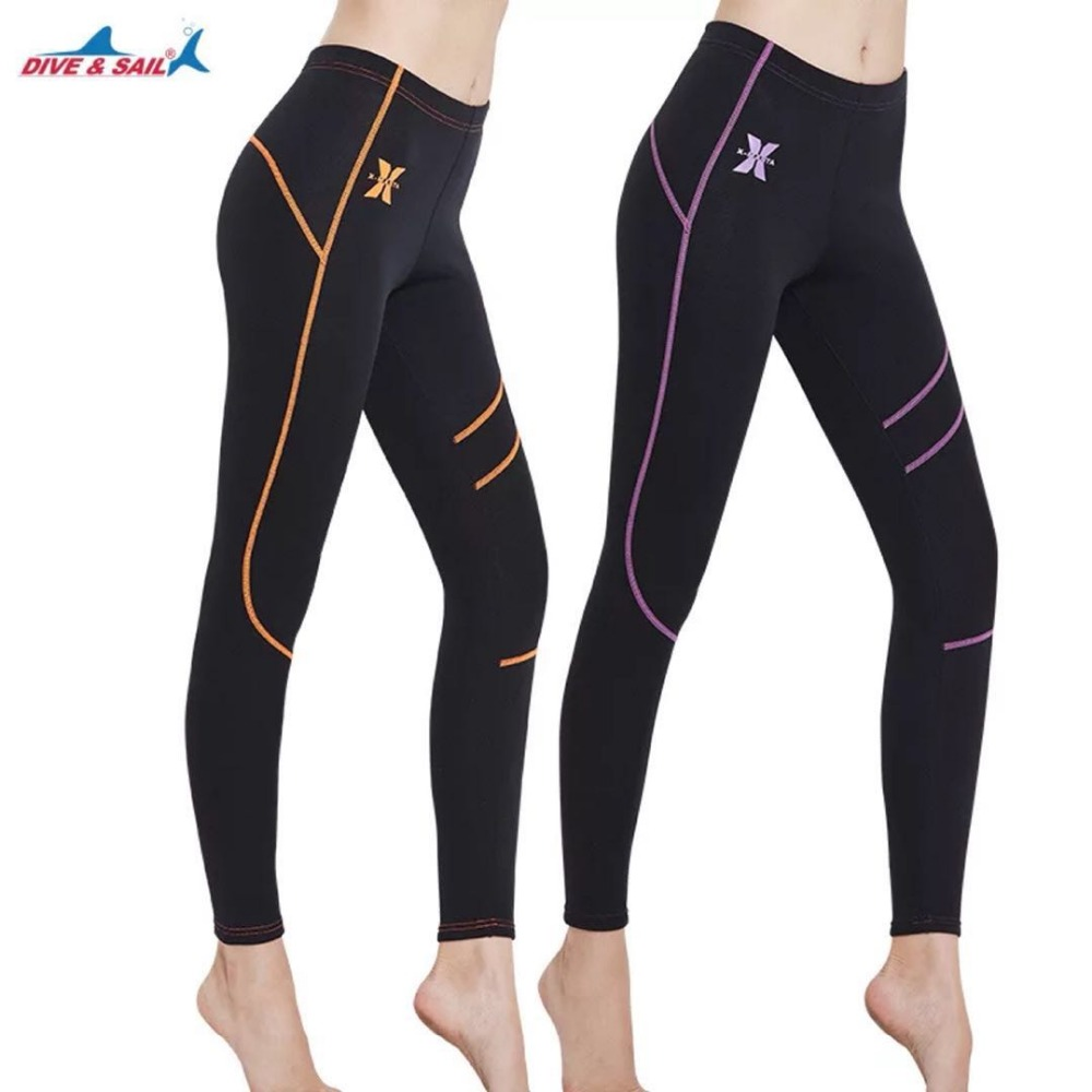0e9090640f Wetsuit Pants Women s Neoprene Leggings 1.5mm Swimming Scuba Skin Water  Sport Snorkeling Fish Surfing Canoeing Diving Bottom-in Rash Guard from  Sports ...