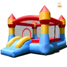 Costzon надувной батут Moonwalk Slide Bounce домашний Джемпер детский игровой центр