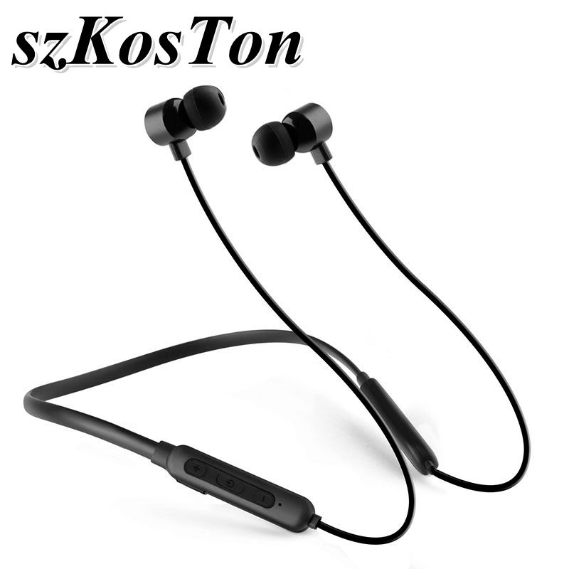 Ipx5 Waterproof Noise Cancelling Neckband Sports Metal Magnetic Stereo Wireless Bluetooth Earphone Earbuds For Xiami Huawei Bluetooth Earphones Headphones Aliexpress