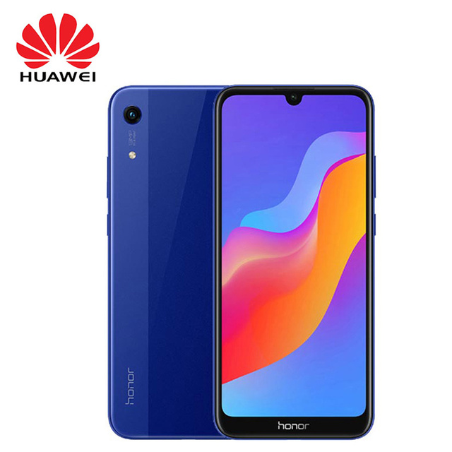 "Global Version Huawei Honor 8A Smartphone 6.09"" MT6765 Octa Core Android 9 2GB 32GB Face Unlock Dual Camera 4G Mobile Phone"