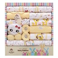 High Quality 100 Cotton 18pcs Baby Clothing Sets Rabbit Infant Newborn Gift Set Boys Girls Baby