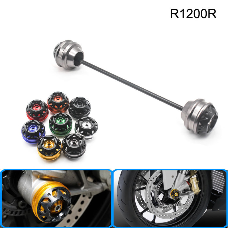 Free shipping for BMW R1200R 2006-2014 CNC Modified+Motorcycle Front wheel drop ball / shock absorber new free shipping motorcycle red front