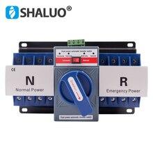 Универсальный автоматический переключатель 4P 63A 380V ATS с двойной мощностью, электрические селекторные переключатели, запчасти для дизельного генератора