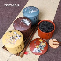 Authentic Yixing Tea Cans Purple Clay Jar Storage Puer Tea Caddies for 200g Green Black Flower Puer Tea Storage Cylinder Barrel