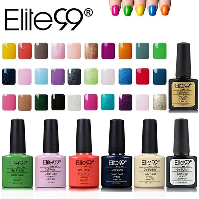 Elite99 7.3 ml gel nail kit 20 colores en 79 colores gelishgel ...