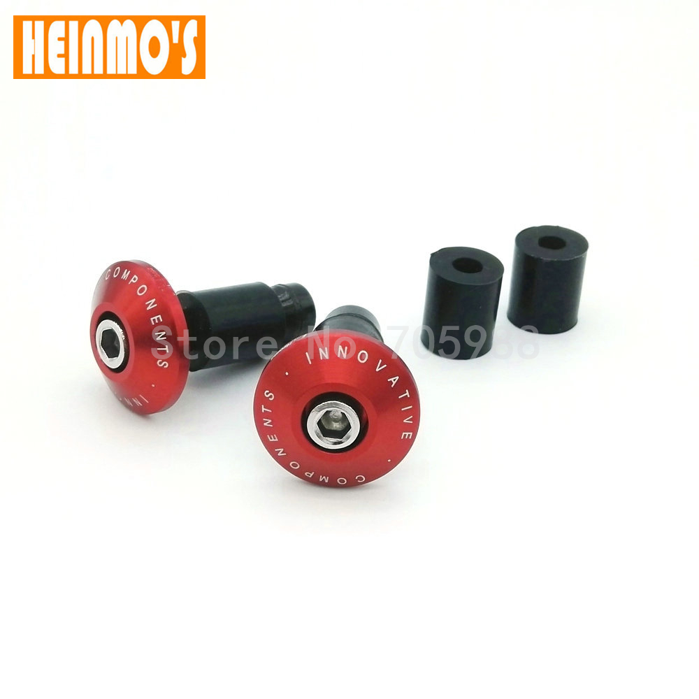 Factory Motorcycle CNC billet Handlebar Grips Bar Ends Slider for dirt bike Red Gold Orange Blue Silver Black