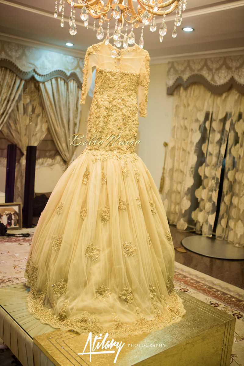 Buy gold muslim wedding dresses 2017 sexy for Wedding dresses in dubai prices