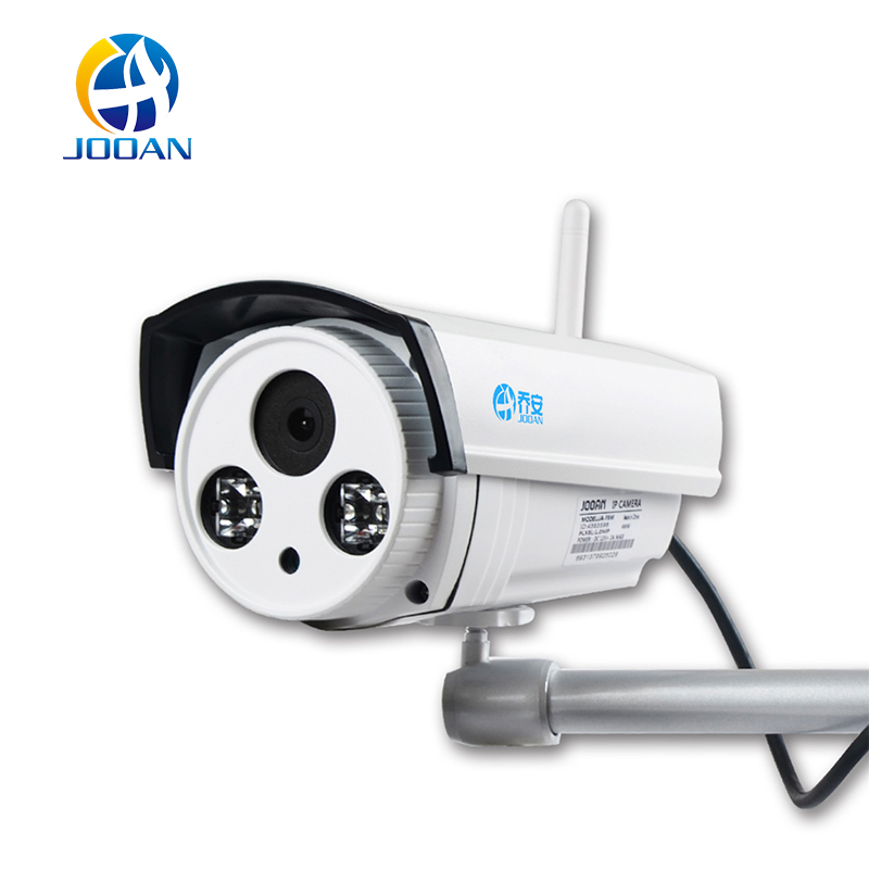 JOOAN Wireless IP Camera 1-Megapixel Audio Recording  720P Wireless Security Outdoor Bullet  Night Vision 65-100ft fpv 1 2ghz 100mw 4ch wireless audio