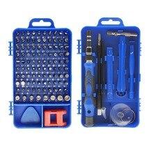 115 in 1 Precision Screwdriver Bit Set Multi Function hand tools destornillador ratchet Torx screw driver set adaptador de punta