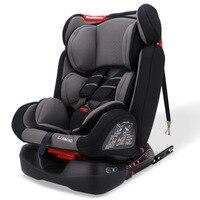Откидное детское сиденье для безопасности автомобиля ISOfix защелка пятиточечный жгут детские автокресла Детские Портативные автомобильные