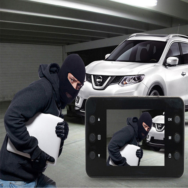 Car driving recorder HD 2.7 inch 1080P500 megapixel power 12V maximum support 32G interior automotive safety supplies