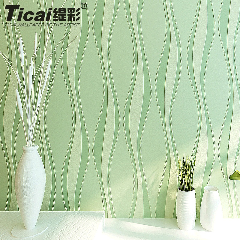 ФОТО Designers Simple Curve Plain Pure 3d Wallpaper Embossed Stripes Non-Woven Wallpaper Bedroom Living Room TV Background Wallpape