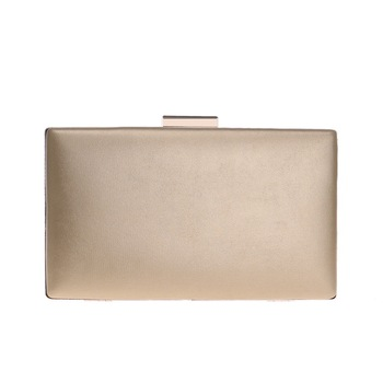 Fashion New Women Evening Clutch Bags PU Chain Shoulder Handbags Leaf Metal Beaded Evening Purse Messenger Bags