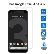 Tempered Glass on for Google Pixel 3 XL 3XL Protective Glass Screen Protector Film 2.5D Glas Bubble Free Anti Scratch Ultra Thin