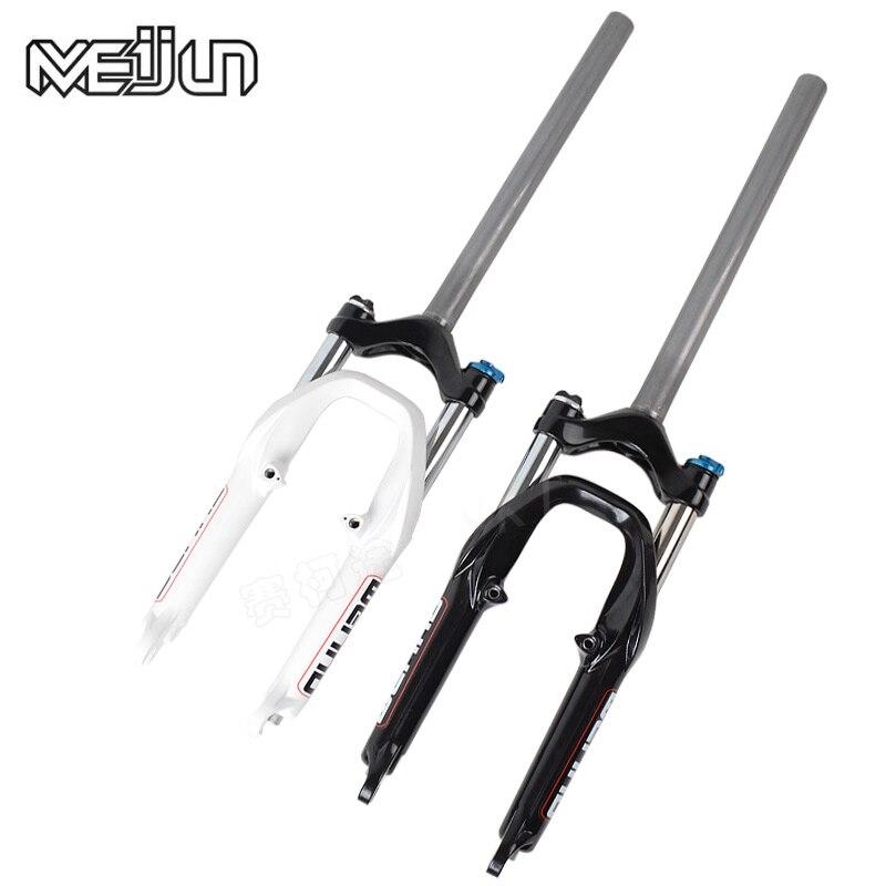 MEIJUN 20 дюймов BMX складные велосипеды демпфирования амортизаторы Велосипедный спорт передняя вилка Ultra long Head Post запчасти