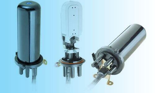Grandway - D005 Fiber de câble fermeture Splice fermeture connecteur étanche boîtes rétractable