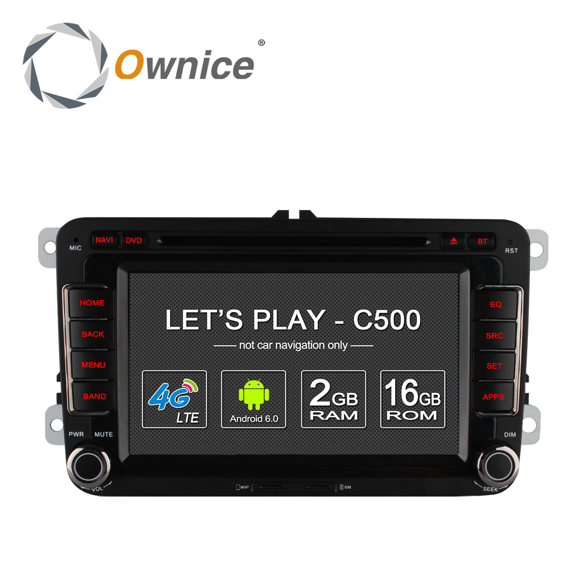 Ownice C500 Android 6 0 4Core 2G RAM font b Car b font DVD Player For