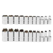 11 Pcs Hex Chrome Vanadium Steel Standard Wrench Socket Set 4~14mm CR-V Steel(China)