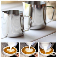 Expresso Stainless Steel Coffee Jug Kitchen Craft Coffee Frothing Milk Latte Jug+thermometer Coffee & Tea Tools