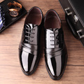 NEW fashion PU LEATHER FLAT CASUAL LEATHER FORMAL loafer dress shoes non-slip mens shoes Height Increasing