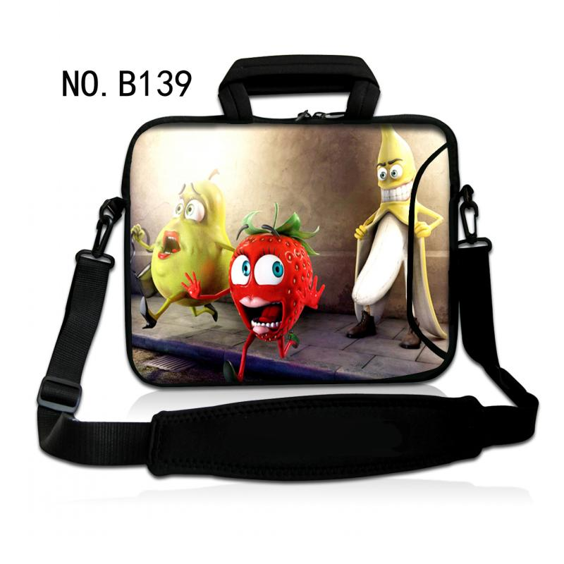 Cartoon Fruits 11.6,13.3,14.1,15.6 inch Notebook Computer Laptop Sleeve Bag Case for Men Women Briefcase Shoulder Bag