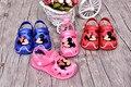 Mickey minnie sandalias huecos sandalias para niños niñas sandalias sandalias del muchacho mini melissa sapato infantil menina suave transpirable
