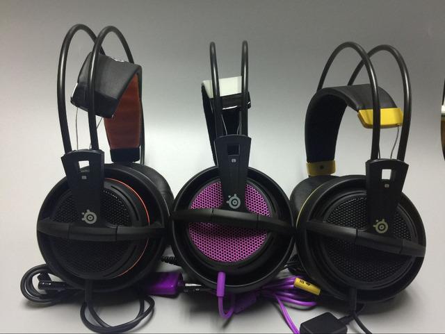Lo nuevo SteelSeries Siberia 200 Juego de Auriculares Con Micrófono Para PC, Mac, Tabletas, y Teléfonos PRO Gaming Headset juego de auriculares