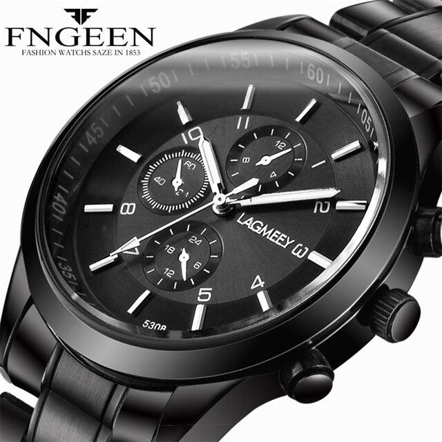 a1cf43d43 LAGMEEY Business Wristwatch Men Watches 2019 Top Brand Luxury Famous Men's  Quartz Watch Hodinky Male Clock Relogio Masculino