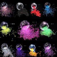 12 Box Mixed Mini Bubble Ball Beads 1-3mm Tiny Beads Epoxy Mold Jewelry Filling
