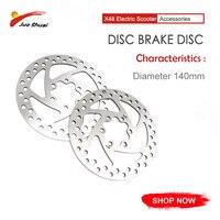 Легкий круглый серебряный дисковый тормозной диск 140 мм Диаметр обновленный дисковый тормозной диск для 10 дюймов электрический скутер Patinete...