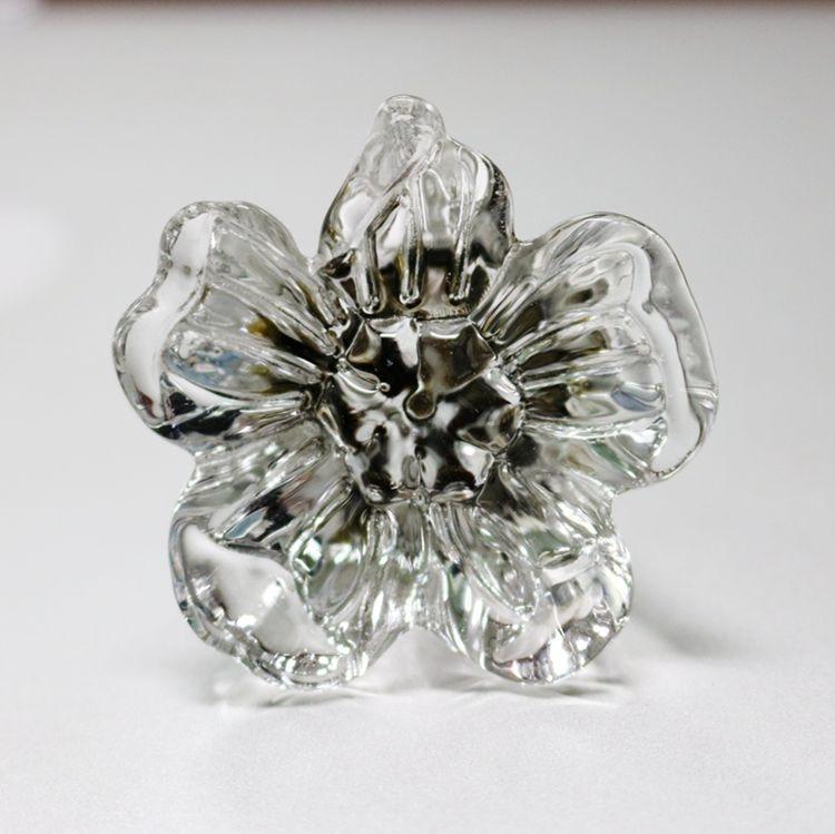 5pcs Crystal Glass Bedroom Furniture Knob Cabinet Drawer Cupborad Door Pull Handle Knobs