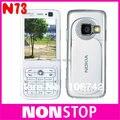 ГОРЯЧИЕ ПРОДАЖА Оригинал Nokia N73 MUSIC edition GSM 3 Г Bluetooth FM MP3 Открыл Мобильный Телефон
