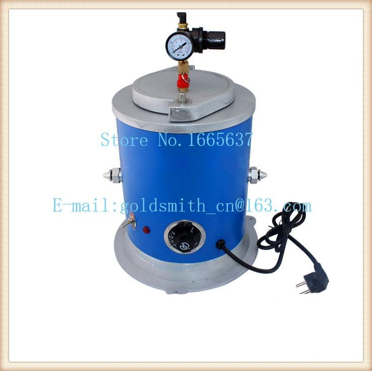 Vacuum digital wax injector