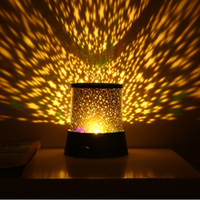 LED Night Light Projector Starry Sky Star moon Round Stage light kids Sleep Romantic colorful Led USB lamp for bedside bedroom все цены