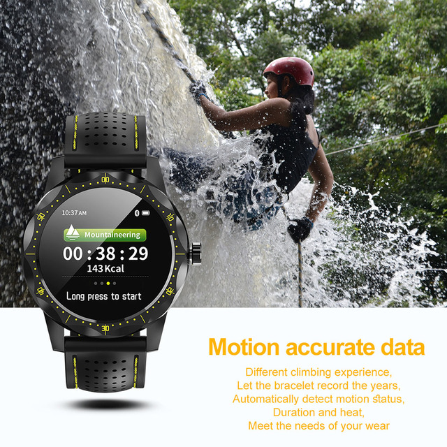 Waterproof IP68 Sport Smart Watch Fitness Bracelet Heart Rate Blood Pressure Monitor Smartwatch for Android Ios xiaomi iphone